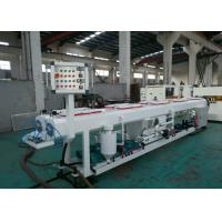 Wholesale PE PERT Plastic Pipe Extrusion Line With Saw Blade Cutting Pneumatic Controlled from china suppliers