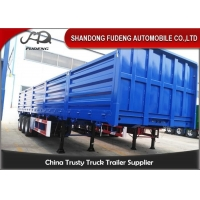Wholesale Pattern Floor 3mm 3 Axles 0.6M 40Ft Side Wall Semi Trailer from china suppliers