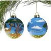 Wholesale Hand Painted Christmas  ball from china suppliers