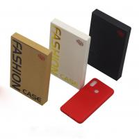 China Embossed Printing Cell Phone Accessories Packaging , Mobile Cover Packaging Box on sale