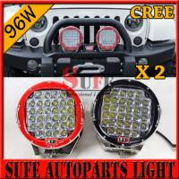 Wholesale 9 inch 96W CREE LED Driving Light 4X4 4wd offroad led truck work light 12v 24v for JEEP from china suppliers
