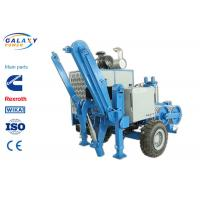 2.5km/H Electrical Cable Pulling Equipment , 4800kg Hydraulic Cable Puller