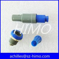 Wholesale 4 pin push pull self-locking plastic medical connector PAG PKG from china suppliers
