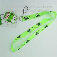 Wholesale Printed polyester id card holder lanyard with printed plastic pocket from china suppliers