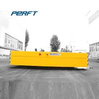 Buy cheap Yellow Customized Automated Motorized Battery Transfer Cart Carrier Flat Car from wholesalers