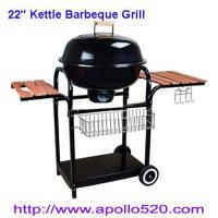 China 22'' Kettle Barbeque Grill as charcoal barbecue on sale