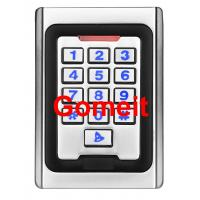 Wholesale Metal Keypad Stand Alone Proximity Card Reader , IP68 Waterproof Stand Alone Door Access from china suppliers
