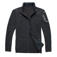Buy cheap 100% Polyester Men Multi Function Jacket For Hunting Black Color from Wholesalers