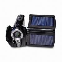 China 12-megapixel Digital Video Camera with 2.8-inch LCD Display, Dual Solar Panel and Li-ion Battery on sale