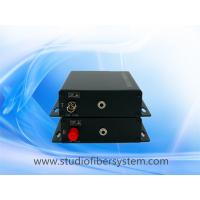 fiber optic stereo audio to 3.5mm converter for 1 ch 3.5mm broadcast stereo audio over fiber extenders to 10~120KM