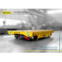 Wholesale Angle Box Wheel Rail Powered Transfer Carts For Bridge Girder Transport from china suppliers