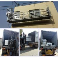 Wholesale Disassemble Suspended Scaffold Platform , Alumimum Alloy Window Cleaning Platform from china suppliers