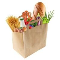 Buy cheap Food Loading Paper handle bag in Fast Food Restaurant from wholesalers