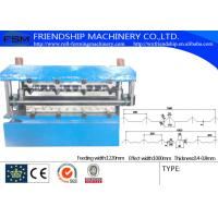 Wholesale Cold Formed Steel Sections , Double Profiles C Z  Purlin Roll Forming Machine from china suppliers
