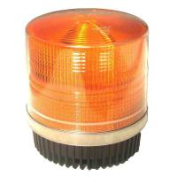 Wholesale Round Amber Warning LED Police Beacon Light Magnet Fixation for Emergency Vehicles from china suppliers