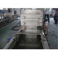 Wholesale Single Screw Double Stage PE Plastic Pelletizing Machine With PLC Control System from china suppliers
