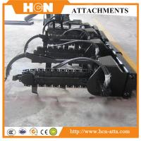 China Hydraulic Trencher Attachments For SKid Steer Loader on sale