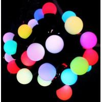 Wholesale Holiday 5M 50led Fairy Full color LED Ball String Lighting waterproof from china suppliers