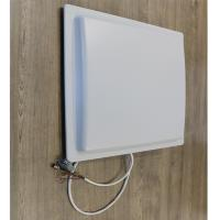 Wholesale 12m  uhf rfid reader long range rfid reader for Parking color White Access control system from china suppliers