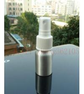 Wholesale 20ml Silver/Red/Blue/Yellow Sprayer aluminum bottle, atomizing spray head aluminium bottle from china suppliers
