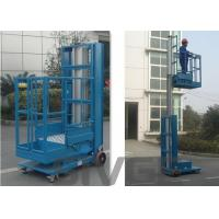 China 2.8m Mast Type Hydraulic Self Propelled Elevating Work Platforms For Cargo on sale