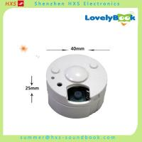 Buy cheap Push Button Recordable Music Box for Plush Toys and Dolls from wholesalers