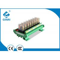 China 10A Optocoupler Isolated Relay Module PLC Relay Module Omron 8 Channel 5V 12V 24V on sale