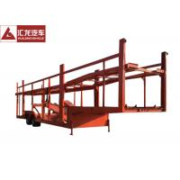 Wholesale Double Layer Car Carrier Trailer Simple Structure Large Loading Space Double Axle from china suppliers