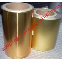 Quality 8011 O 46-50mic coated aluminium foil for chocolate coins for sale