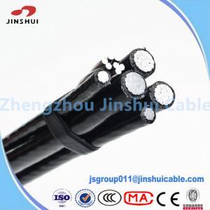 Street Lighting Triplex Overhead Wire Aluminum Service Cable NASA IEC Standard