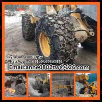 Wholesale tire protection chains/tire protective chains/tire chains for underground loader 26.5-25 from china suppliers