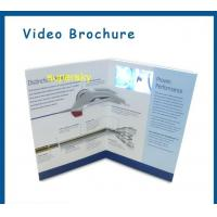 Wholesale Artificial Style Digital Video Business Card / Promo Video Brochure 2.4 Inch from china suppliers
