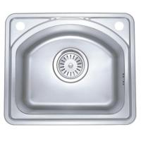 Wholesale Auti - duty Square D Shaped Stainless Steel Kitchen Sinks With Pre Drill Hole from china suppliers