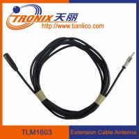 Wholesale male to female extension cable car antenna/ car antenna adaptor TLM1603 from china suppliers