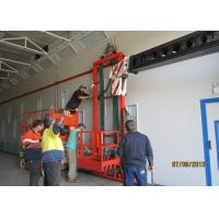 Powder Coating Truck Spray Booth 66KW Luxury With Pneumatic Damper
