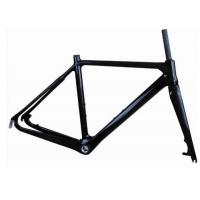 Wholesale Light Weight UD Finishing Carbon Cyclocross Bike Frames 700C Disc Brake T700 from china suppliers