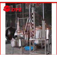 Wholesale Manual Stainless Steel Industrial Alcohol Distillation Equipment from china suppliers