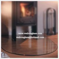 Wholesale 6mm/8mm/10mm/12mm Clipped Corner Square Glass Floor Plate from china suppliers