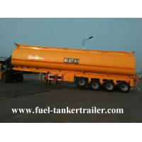 1 - 7 Adjustable Compartments Fuel Tanker Trailer with 5mm carbon steel tank body