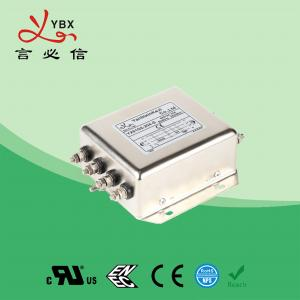 Wholesale Low Pass PV Inverter EMI Filter , DC EMI RFI Noise Filter Metal Case from china suppliers