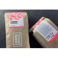 Wholesale Fancy Adhesive Food Sticker Labels Resealable , Custom Coffee Packaging Label Printing from china suppliers