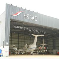 Wholesale Prefabricated Wide Span Steel Buildings for Hangar with stable steel structure from china suppliers