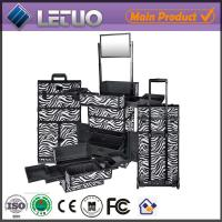 China Rolling trolley beauty case wholesale professional makeup cases on sale