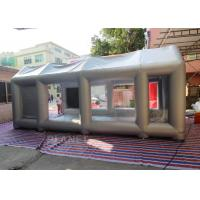 China 7m Long Inflatable Spray Booth With Blower Fire - Retardant EN14960 SGS CE on sale