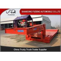 Wholesale Heavy Equipment 15M 3 Axle Detachable Gooseneck Trailer from china suppliers