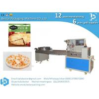 Wholesale Kobe pizza frozen packaging automatic food flow packaging machine from china suppliers