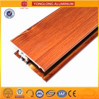 Wholesale Insulation Wood Finish Aluminium Profiles For Medical Equipment OEM from china suppliers