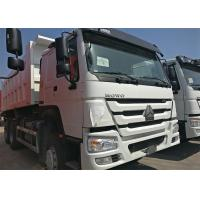 Wholesale HOWO Heavy Dump Truck 371HP Engine Power 3 Axles 6x4 Driving Type from china suppliers