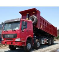 Euro II Emission Standard Heavy Duty Trucks , Medium Duty Dump Truck