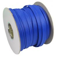 Tight PET Expandable Braided Sleeving Corrosion Resistance For Cable Wire Sheath
